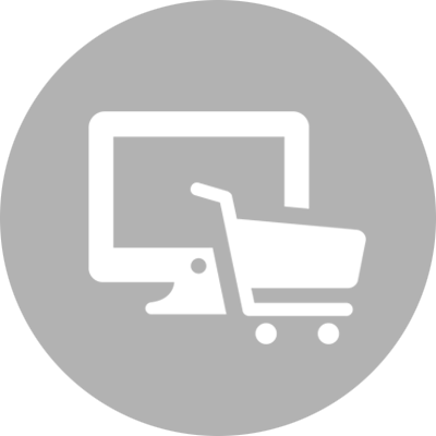 Shopping card and desktop representing e-Commerce