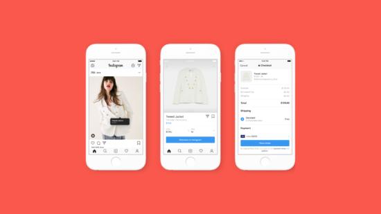 """Instagram's setzt mit seiner """"Checkout"""" Funktion neue e-Commerce Trends."""