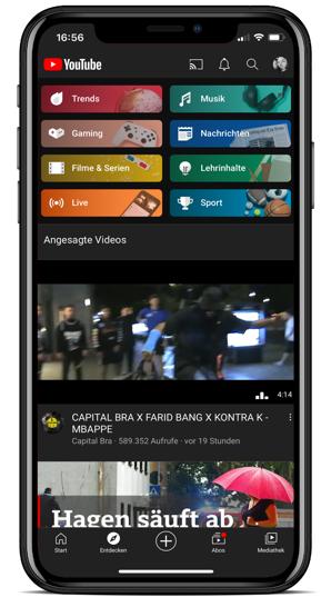 YouTube, YouTube Live Streaming, Shopping Tab